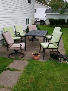 7-pc patio furniture set