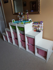 TROFAST (IKEA) Storage combination with boxes,