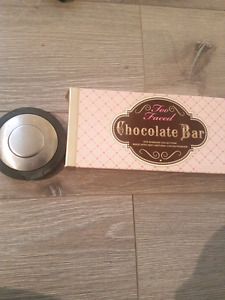 Too faced chocolate bar pallet and becca highlight in pearl