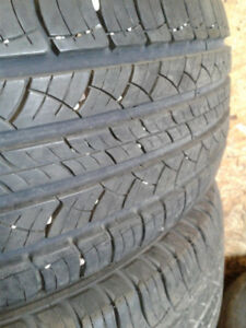 Michelin Lattitudes set of 4 used tires for sale