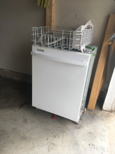 White Kenmore built-in dishwasher