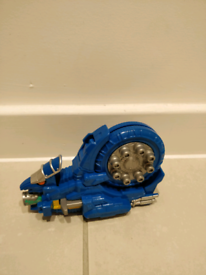 power rangers dino charge Ammonite zord with charger vgc