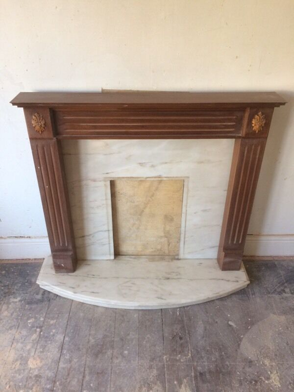 Fireplace plus surround