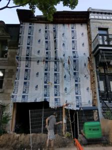 Recherche édifice en mauvais état Montréal