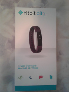 FitBit Alta - Small, Plum (Barely Used)