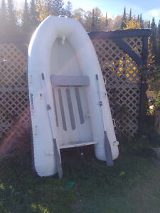 Aquapro Inflatable Dingy with Aluminum Floor $1,600.00 or B.O