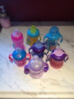 7 Girl Sippy Cups