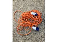 25m hook up cable for caravan/ trailer tent etc..