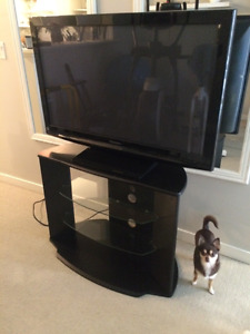 "42"" 1080p Panasonic TV + Stand for Sale - Like New"