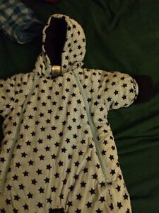 Infant snowsuit 6-9 mos.