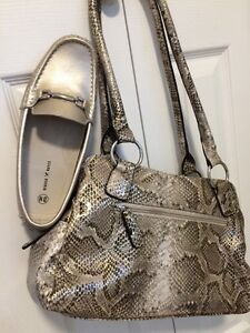 Glitzy Glam Purse and Shoes