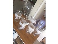 Wedding decoration and table wear - job lot