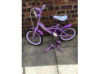 Girls princess bike bargain