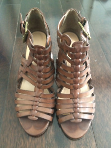 New Nine West Leather Heels