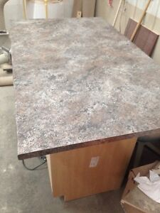 New island counter top