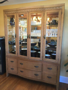 REDUCED: China Cabinet/ Hutch & Buffet