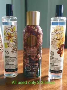 The Body Shop & BBW room/linen spray
