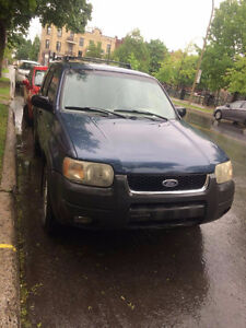 2001 Ford Escape XLT VUS