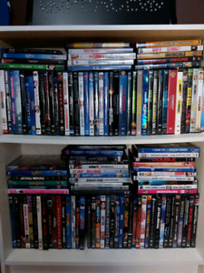 DVD's and Blu-ray's
