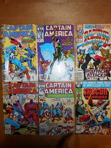 12 Comic Books BD Vintage