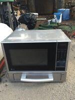 Combo microwave