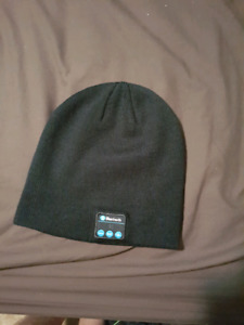 Blue tooth winter hat