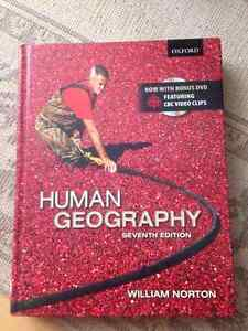 Human geography 7th edition