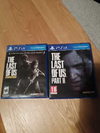 The Last of Us Remastered & The Last of Us Part 2