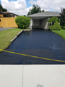 Driveway sealing and repair