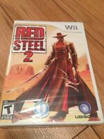Nintendo Wii Red Steel 2 - brand new in wrapper