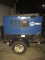 2007 big blue 400 welder on trailer for sale