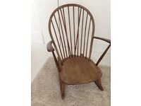 Rocking chair ercol vintage mid century grandfather