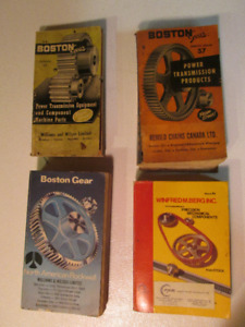 Catalogue ancien  Boston gear