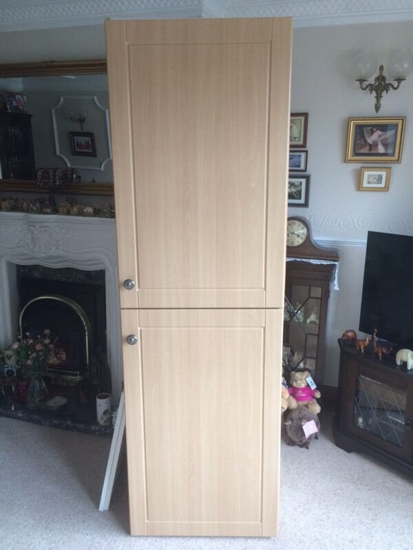 B Amp Q Tall Kitchen Larder Unit Cupboard With Two Shelves