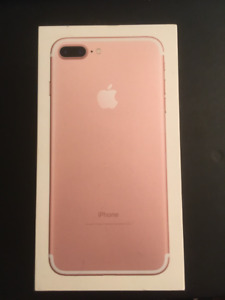 iPhone 7 Plus - Rose Gold - 32GB - UNLOCKED - Mint with box