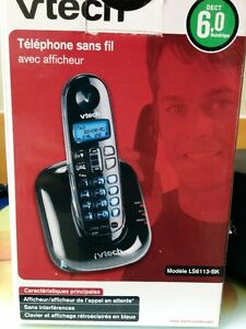 VTeck Sans fil avec répondeur - Cordless phone with caller ID West Island Greater Montréal image 2