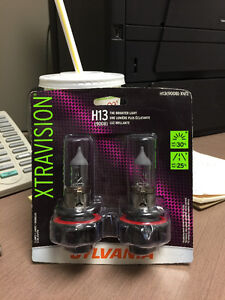 Brand new in the package sylvania headlight bulbs for cars!