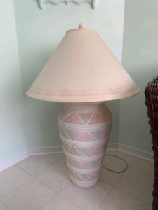 Two Vintage side lamps