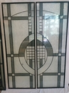 Doors Windows Wrought Iron or Stained Glass Door Inserts