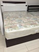 Furniture EXPRESS- Special queen bed frame with storage