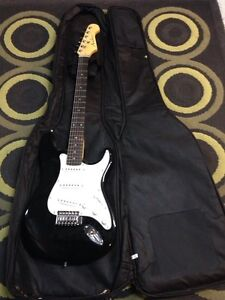 Electric Guitar and Soft Case