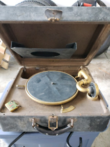 78 record player and records