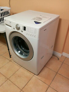 LG large front load washing machine. Needs some TLC.