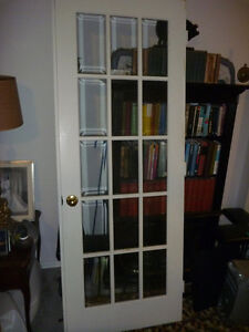 French door,white,exactly79.5 x 29.5 x 1 3/8.Excellent condition