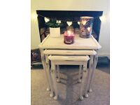 Antique nest of tables ~ open to sensible offers