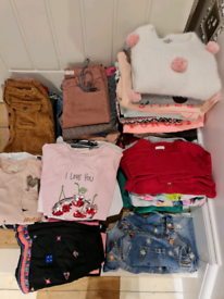 Bundle of girls clothes age 7-9 years