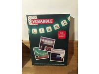 Brand new in box scrabble lights