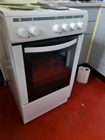 Cooker, fridge, freezer