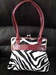 Zebra purse Windsor Region Ontario image 2