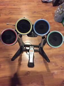 Rockband game and drum set